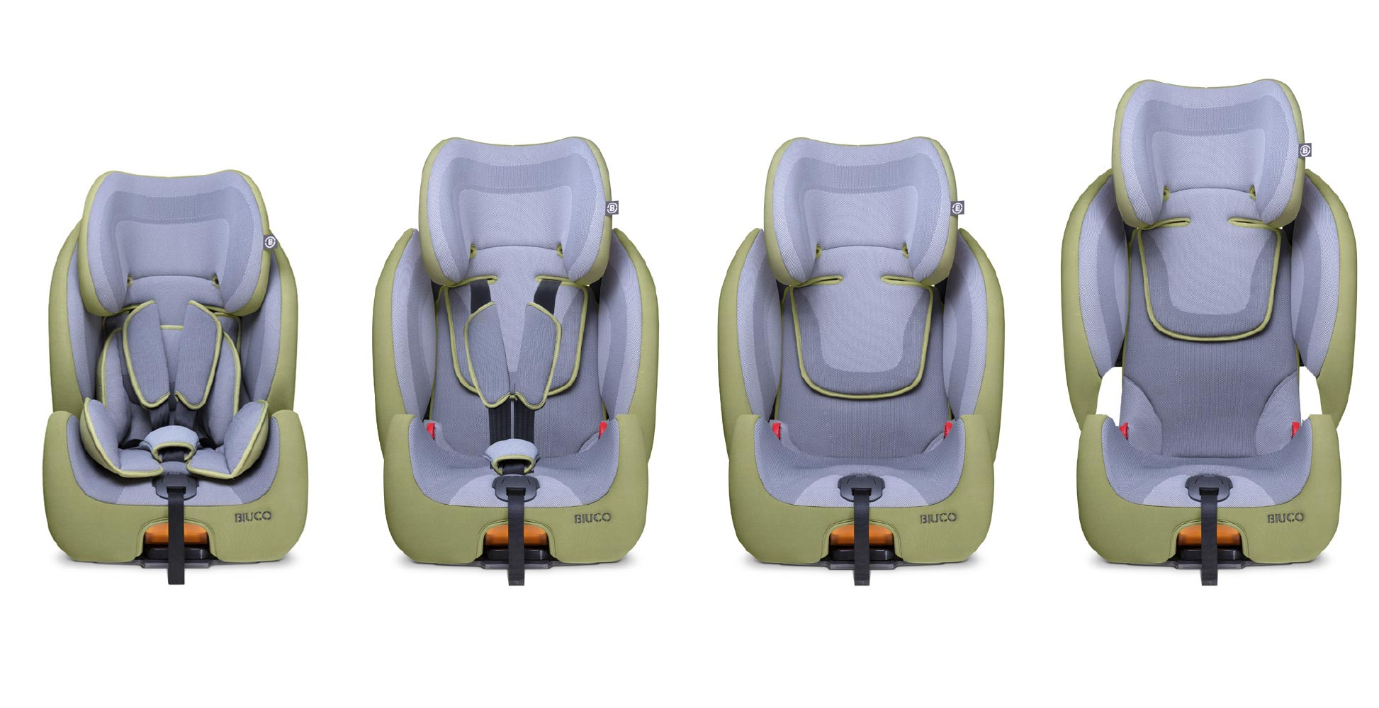 Child Car Seats Design: Biuco Mars G123