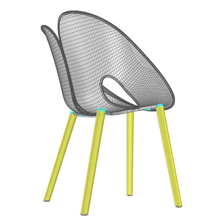 Design Development: DHF Twist Chair