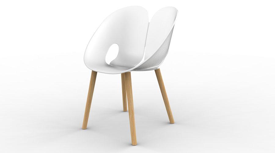 Italian Design: DHF Twist Chair